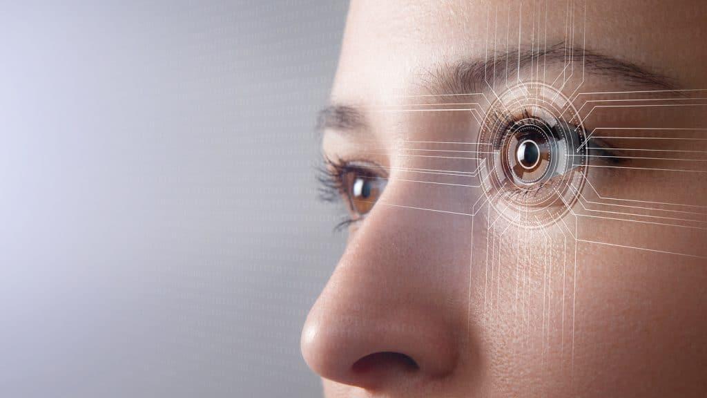 Biometrics concept.